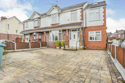 7 Bedrooms Semi Detached House for sale in Burnham Drive, Manchester, Greater Manchester, Uk