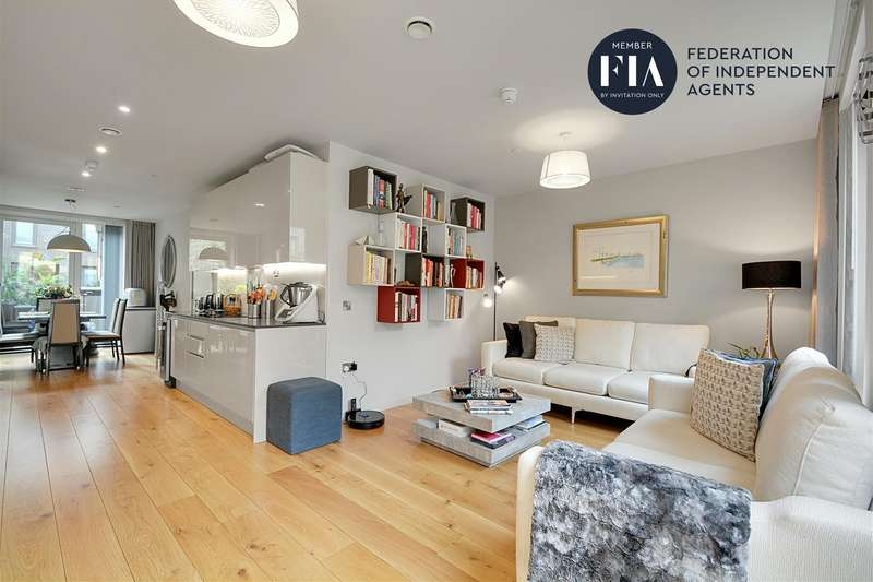 5 Bedrooms Town House for sale in Isambard Court, Brentford Lock West, Brentford
