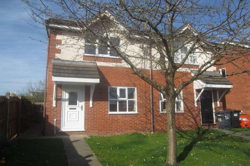 2 Bedrooms Semi Detached House for rent in Fairbrook, Wistaston, Crewe, CW2