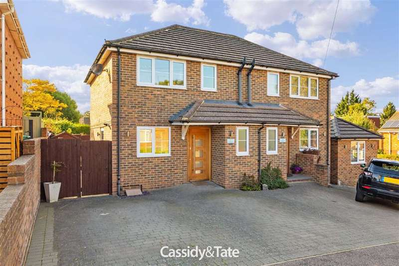 2 Bedrooms Semi Detached House for sale in Loufenway Mews, Wheathampstead, Hertfordshire