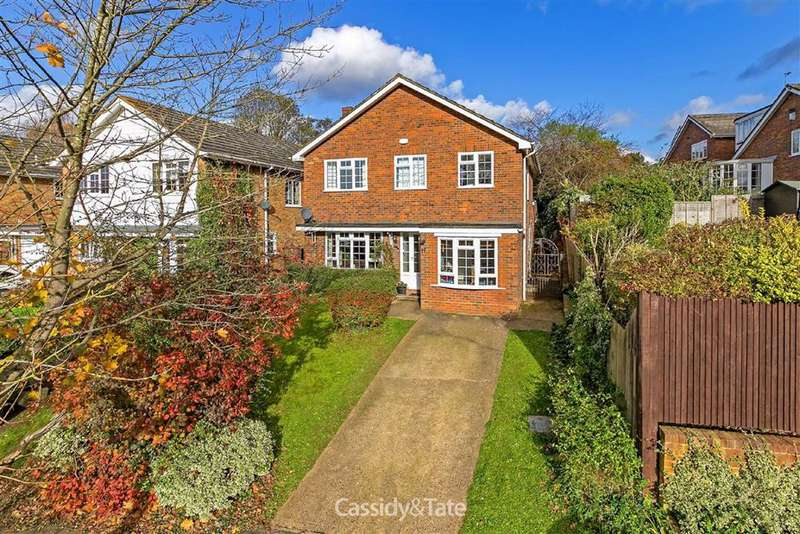 4 Bedrooms Detached House for sale in Corder Close, St. Albans, Hertfordshire