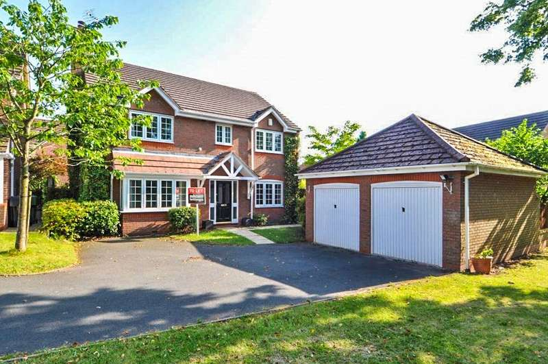 4 Bedrooms Detached House for rent in Tower Drive, Bromsgrove, Worcestershire, B61