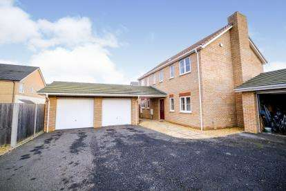 4 Bedrooms Detached House for sale in Gidding Road, Sawtry, Huntingdon, Cambridgeshire
