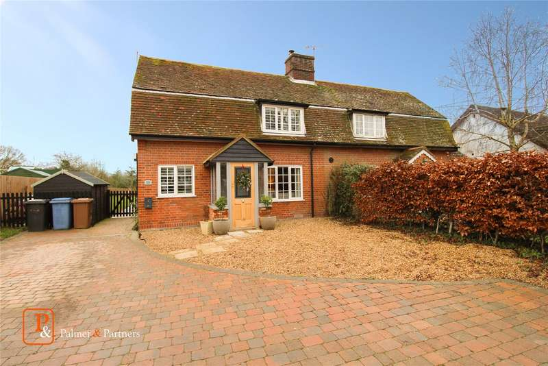 3 Bedrooms Semi Detached House for rent in Manor Cottage East, Manningtree Road, Stutton, IP9