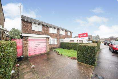 3 Bedrooms Semi Detached House for sale in Shakespeare Road, Luton, Bedfordshire