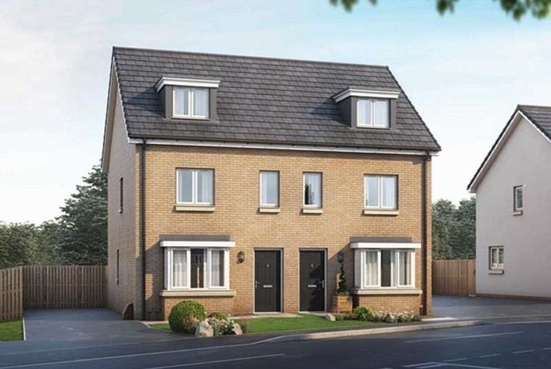 3 Bedrooms Semi Detached House for sale in The Roxburgh, Ravenscraig, Plot 61, The Castings, Meadowhead Road, Ravenscraig, Wishaw