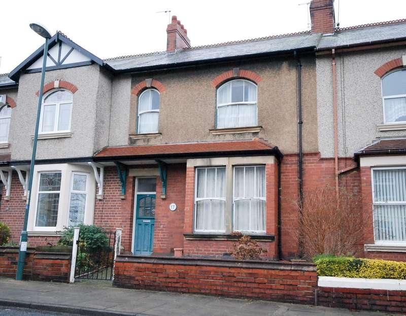 3 Bedrooms Terraced House for sale in Field Terrace, Jarrow