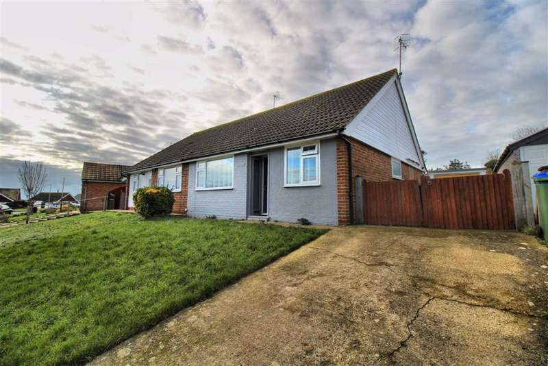 2 Bedrooms Semi Detached Bungalow for sale in Homefield Road, Seaford, East Sussex