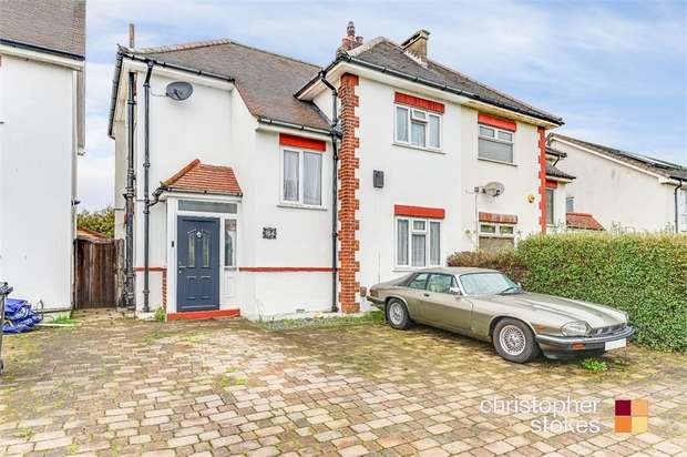 3 Bedrooms Semi Detached House for sale in Great Cambridge Road, Cheshunt, Hertfordshire