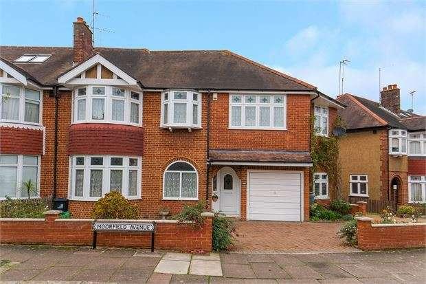 5 Bedrooms Semi Detached House for sale in Moorfield Avenue, Ealing, London. W5 1LG