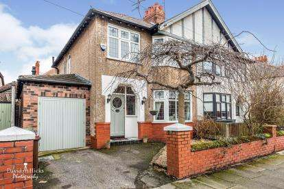 3 Bedrooms Semi Detached House for sale in Coronation Drive, Crosby, Liverpool, Merseyside, L23