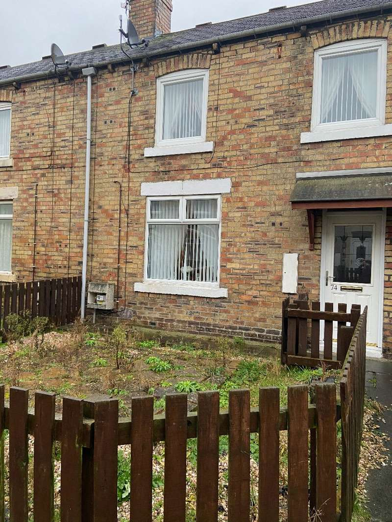 2 Bedrooms Terraced House for sale in Katherine Street, Ashington