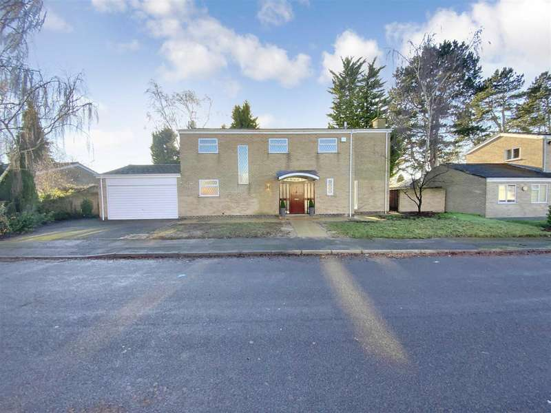 4 Bedrooms Detached House for sale in Stoughton Close, Oadby