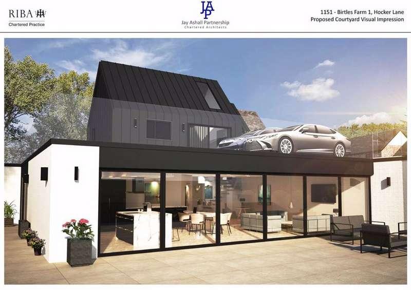 4 Bedrooms Barn Conversion Character Property for sale in Hocker Lane, Over Alderley