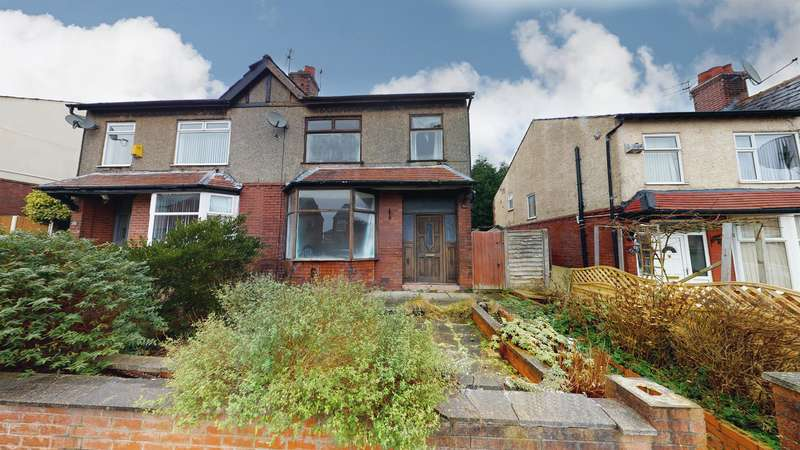 3 Bedrooms Semi Detached House for sale in Brook Hey Avenue, Great Lever, Bolton, BL3 2EQ