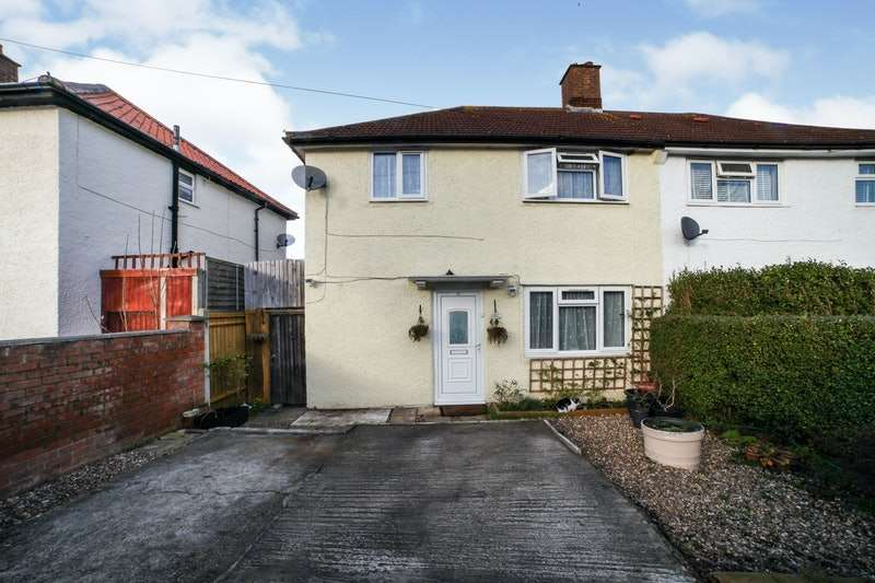 3 Bedrooms Semi Detached House for sale in Crowley Crescent, Croydon, London, CR0