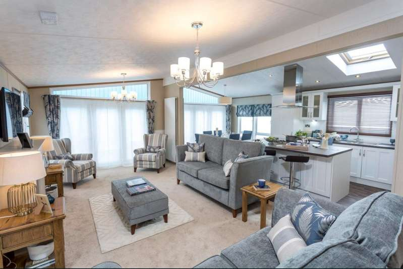 2 Bedrooms Lodge Character Property for sale in Ribble Valley Country Leisure Park, Lancashire, BB7 4JD