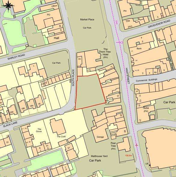 Land Commercial for sale in South Place, Field Terrace, Ripley