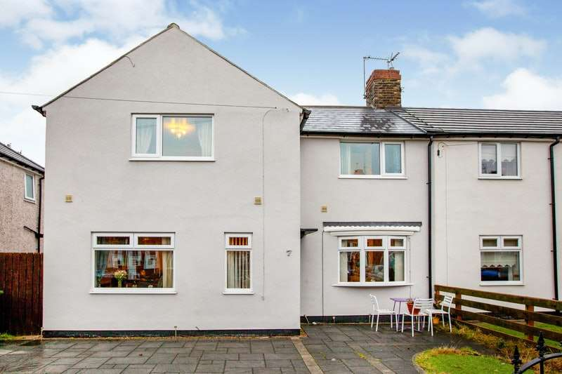 3 Bedrooms Terraced House for sale in Vimy Avenue, Hebburn, Tyne and Wear, NE31