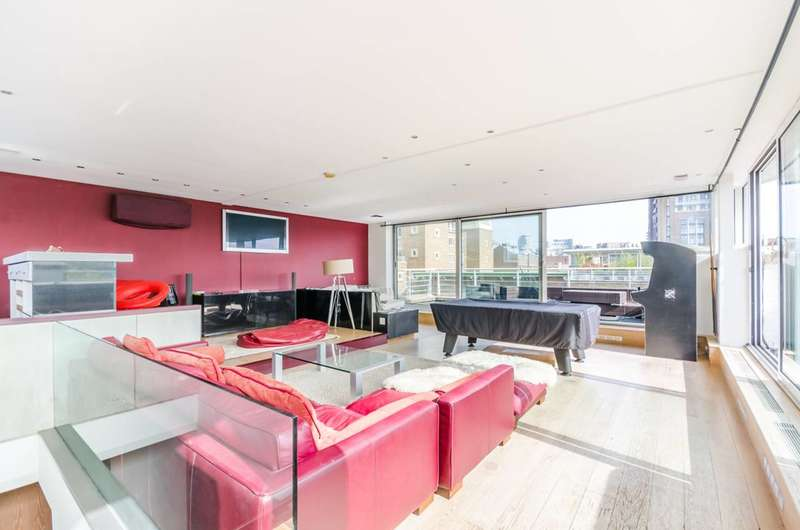 2 Bedrooms Penthouse Flat for sale in Mendip Court, Battersea, SW11
