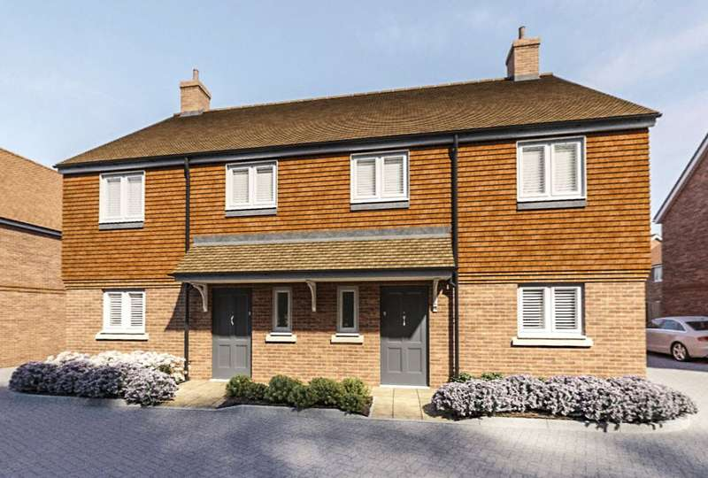 3 Bedrooms Link Detached House for sale in Heatherwell Place, South Lane, Ash, Surrey, GU12