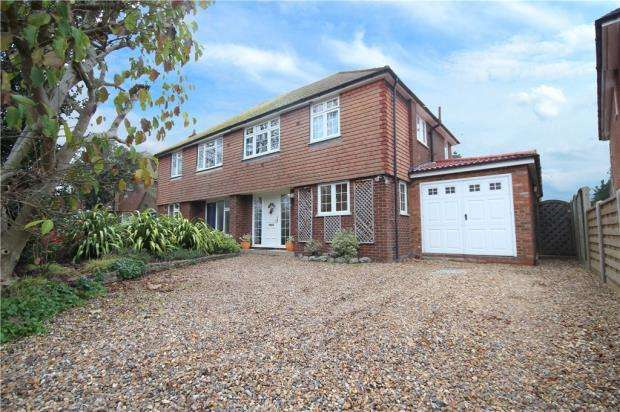 4 Bedrooms Semi Detached House for sale in Vicarage Road, Staines-upon-Thames