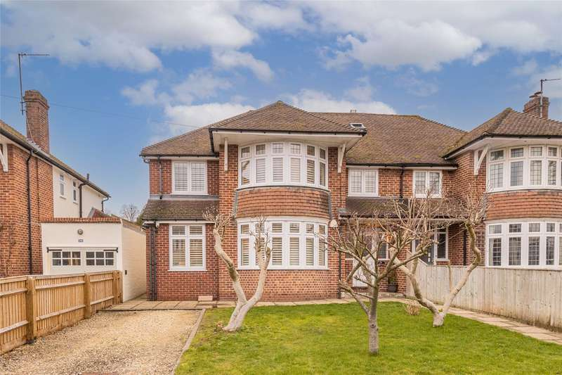5 Bedrooms Semi Detached House for sale in Squitchey Lane, Oxford, OX2
