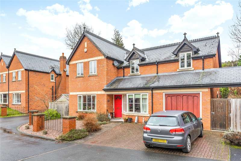 4 Bedrooms Link Detached House for sale in 3 Rock House Court, Llandrindod Wells, Powys, LD1 6AX