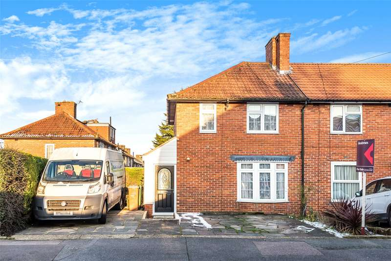 3 Bedrooms End Of Terrace House for sale in Waltham Road, Carshalton, SM5