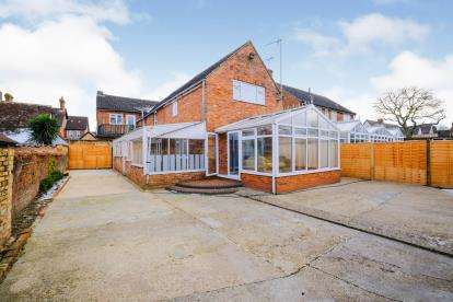 3 Bedrooms Detached House for sale in High Street, Riseley, Bedford, Bedfordshire
