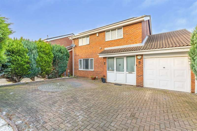 4 Bedrooms Detached House for sale in Grampian Way, Long Eaton