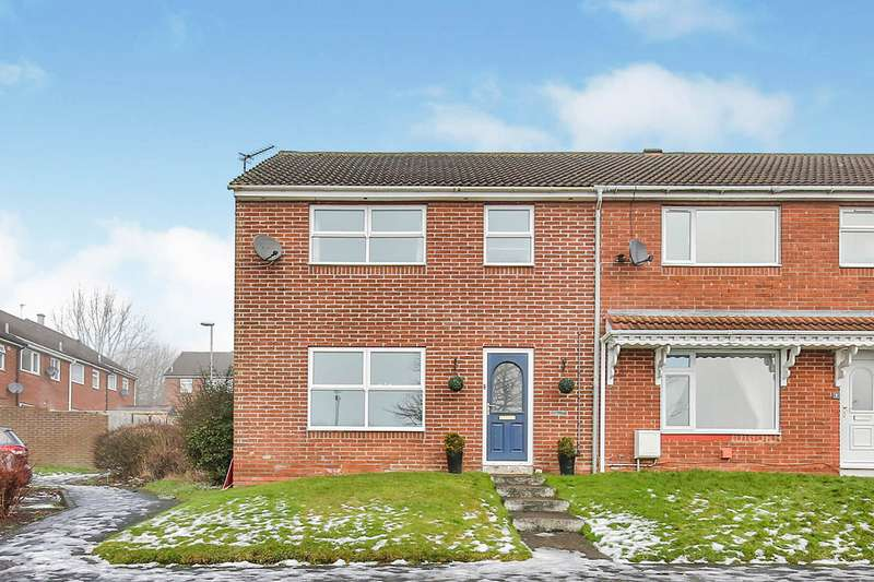 3 Bedrooms End Of Terrace House for sale in Helmsley Close, Ferryhill, Durham, DL17