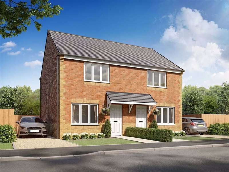2 Bedrooms Semi Detached House for sale in Wheatriggs Court, Milfield, Northumberland, NE71