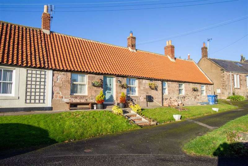 2 Bedrooms Semi Detached Bungalow for sale in Tenter Hill, Wooler, Northumberland, NE71