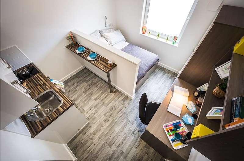 1 Bedroom Studio Flat for rent in Student Accomodation