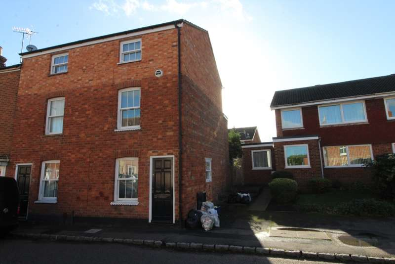 3 Bedrooms End Of Terrace House for sale in Caldecote Street, Newport Pagnell.