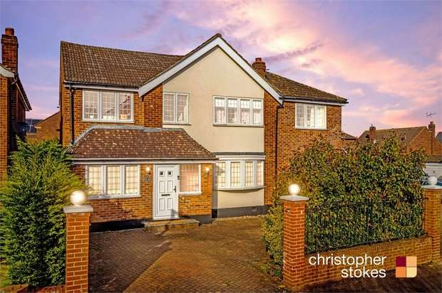 5 Bedrooms Detached House for sale in Brinley Close, Cheshunt, Hertfordshire