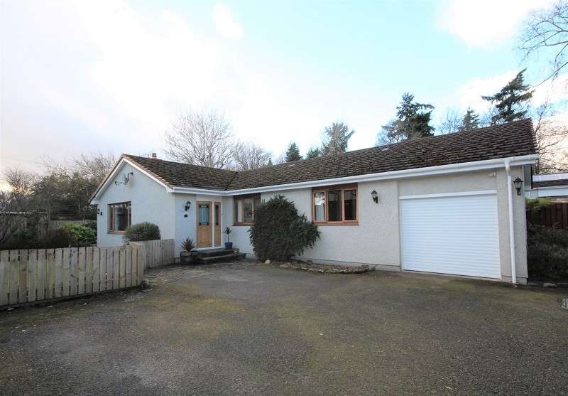 4 Bedrooms Detached Bungalow for sale in 28b Muirfield Road, Muirfield, Inverness, Highland. IV2 4AY