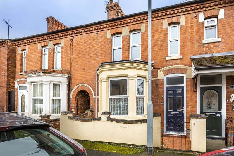 3 Bedrooms Terraced House for sale in Roberts Street, Rushden, Northamptonshire, NN10