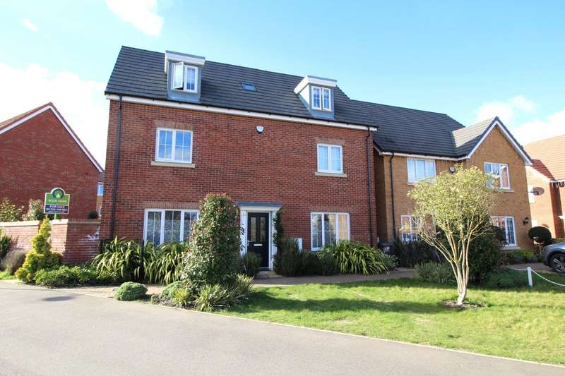 5 Bedrooms Detached House for sale in Eagle Mews, Wixams, Bedford, Bedfordshire, MK42