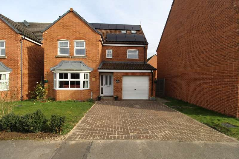 5 Bedrooms Detached House for sale in Minerva Way, Lincoln, Lincolnshire, LN6
