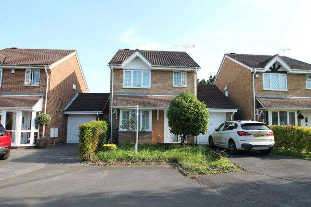3 Bedrooms Detached House for sale in Cousins Close, West Drayton, Middlesex