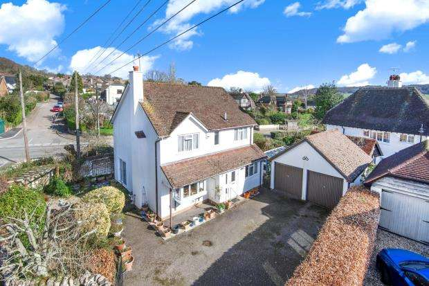 4 Bedrooms Detached House for sale in Ice House Lane, Sidmouth, Devon