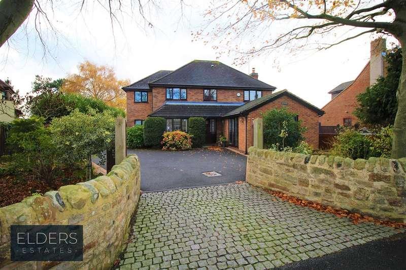 4 Bedrooms Detached House for sale in Hallfieldgate Lane, Shirland