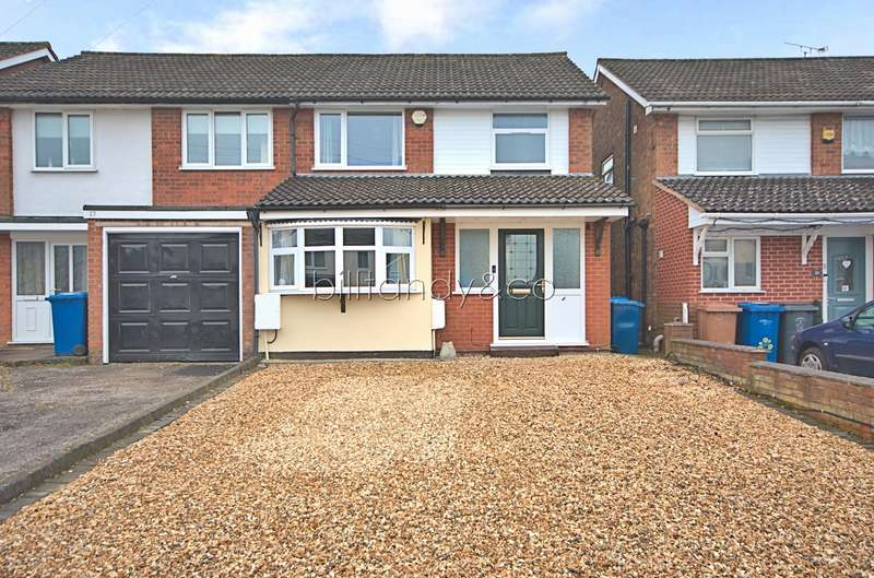 4 Bedrooms Semi Detached House for sale in Holly Grove Lane, Burntwood, WS7