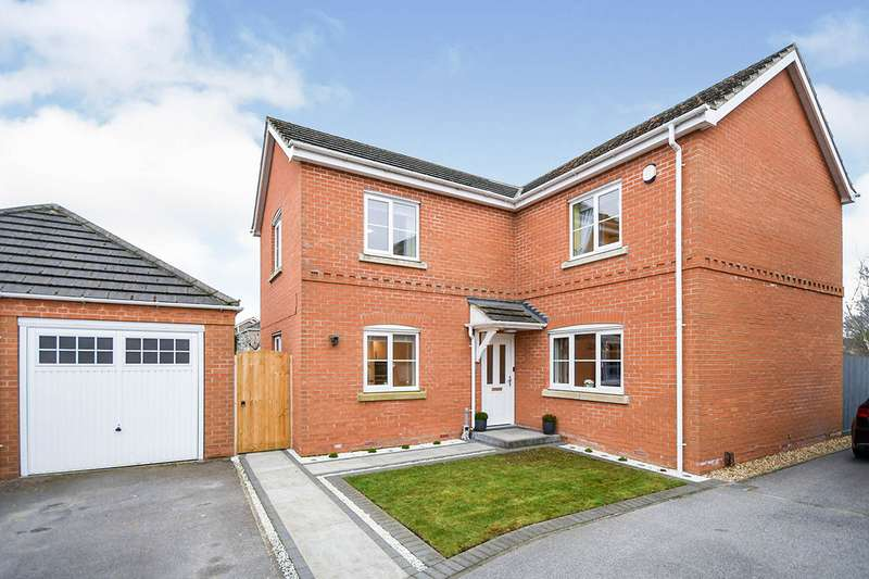 4 Bedrooms Detached House for sale in Post Mill Close, North Hykeham, Lincoln, Lincolnshire, LN6