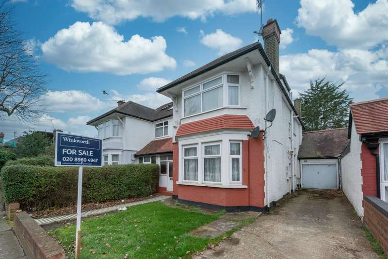 5 Bedrooms Semi Detached House for sale in Blackstone Road, London, NW2