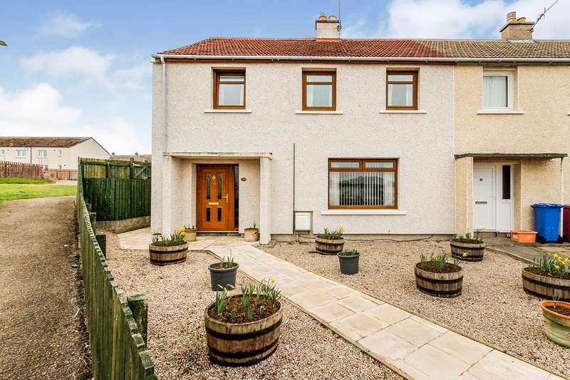 3 Bedrooms End Of Terrace House for sale in Sunbank Place, Lossiemouth, Moray, IV31
