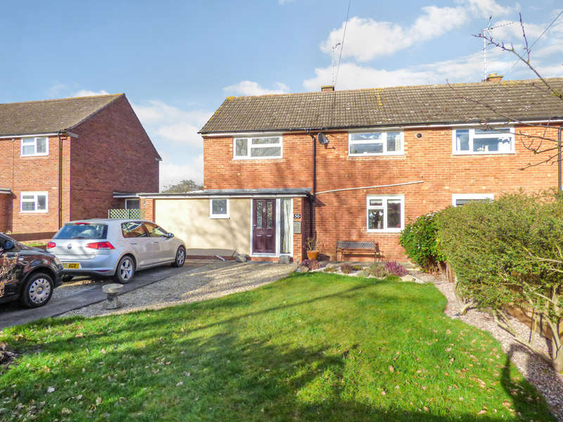 2 Bedrooms Semi Detached House for sale in Campden Road, Shipston-on-Stour