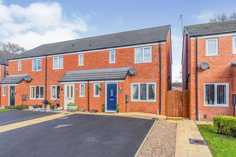 3 Bedrooms End Of Terrace House for sale in Jubilee Pastures, Middlewich, Cheshire, CW10